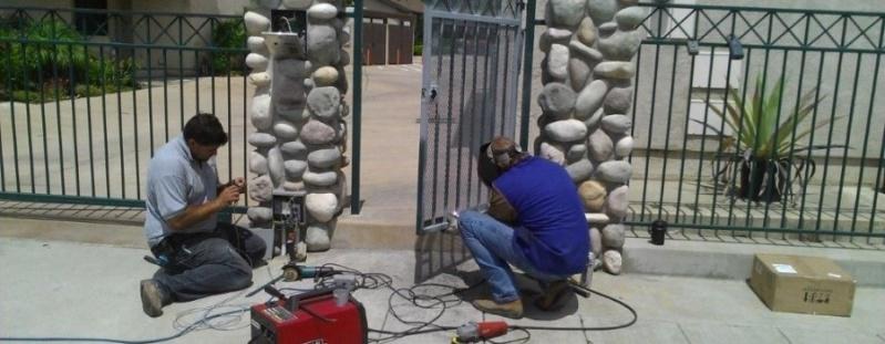 Manutenção de Portões Industriais Preço Jardim Oliveira, - Manutenção Portão Automático