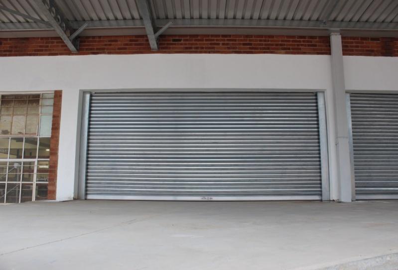 Porta de Aço Automática Transvision Lavras - Portas de Aço Automáticas