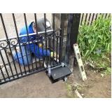 consertos de portões de ferro na Chora Menino