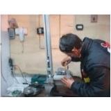 empresa de manutenção portão deslizante Condomínio Veigas