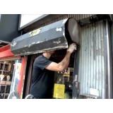 manutenção de portão de ferro na CECAP
