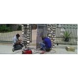 manutenção de portão de garagem