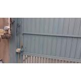 motor porta de aço automática Água Rasa