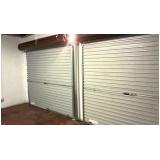 porta de aço para garagem Vila Guilherme