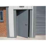 porta de aço blindada