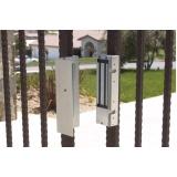 trava eletromagnética de portão em sp preço Jardim Oliveira,