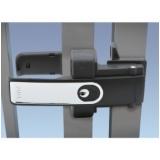 trava eletromagnética para portão automático basculante Condomínio Veigas